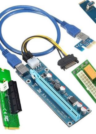 Райзер Riser m.2 to pci e синхронизатор видеокарты rizer x1 x16