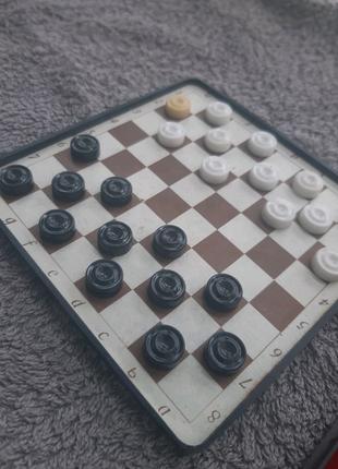 Советские дорожные шашки