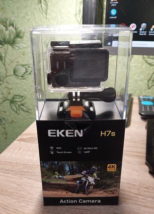 Екшн камера EKEN H7s 4K 12МП сенсор Panasonic