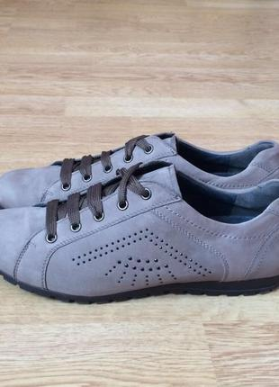Кожаные кроссовки walbusch 40 размера