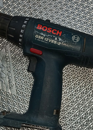 Шуруповерт Bosch GSR 12 VES-2 по частям