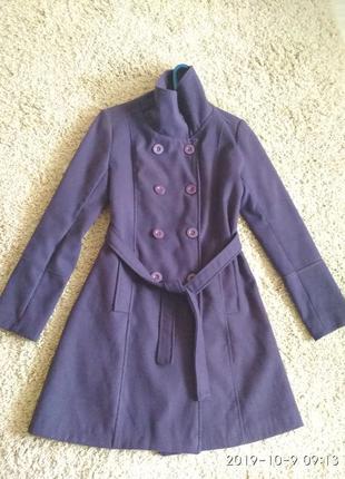 Шерстяное итальянское пальто