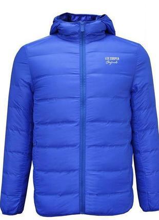 Мужская куртка Lee Cooper Seamless Down Jacket Mens весна осинь