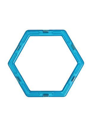 Шестиугольник к магнитному конструктору