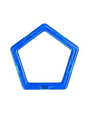 Пятиугольник к магнитному конструктору