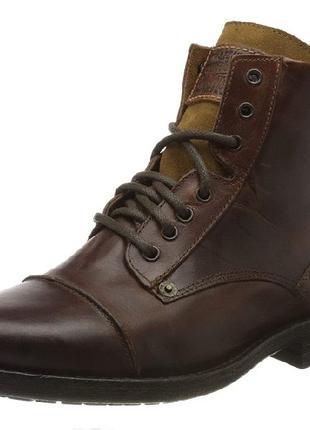 Ботинки Обувь LEVIS Мужские байкерские Ботинки Emerson