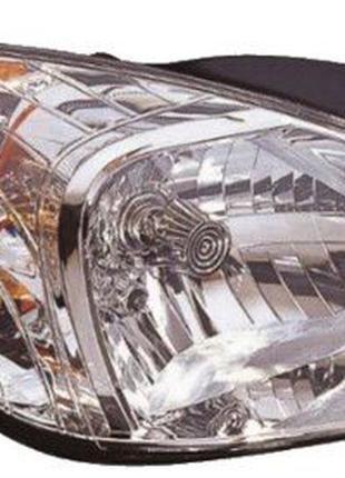 Фара правая левая Hyundai Accent бампер капот