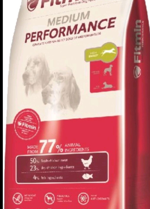 корм для собак FITMIN Medium Performance15кг
