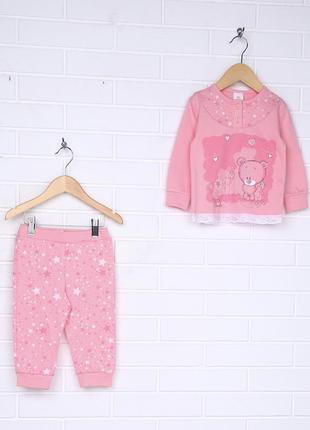 Sale❗️❗️❗️пижама для девочек , детская пижама ,мишками,розовая...