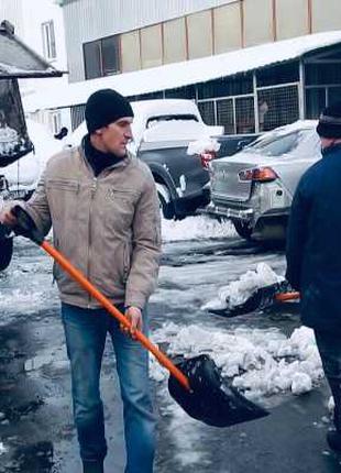 Уборка снега Вывоз снега киев