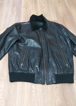 кожаная куртка JOOP