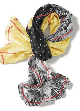 Яркий воздушный шарф-снуд, палантин - tcm tchibo германия боль...