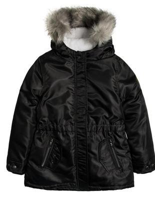Куртка парка зимняя на девочку 146