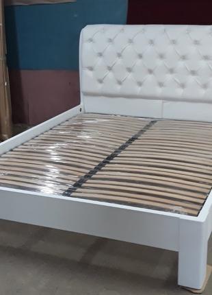 Кровать Тиффани с подъемным механизмом из массива ясеня