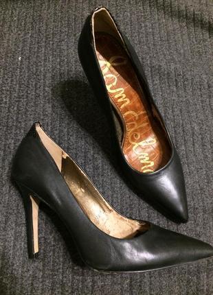 Sam edelman кожаные туфли лодочки
