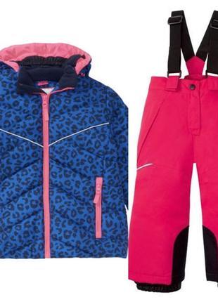 Комбинезон на девочку kiki&koko куртка и штаны crivit