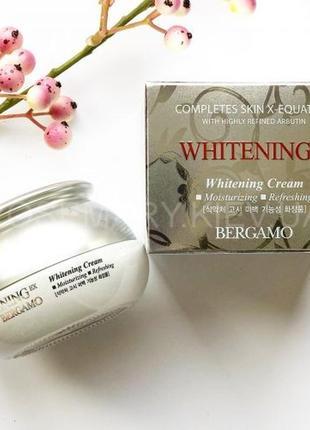 Омолаживающий осветляющий крем bergamo whitening ex wrinkle cream
