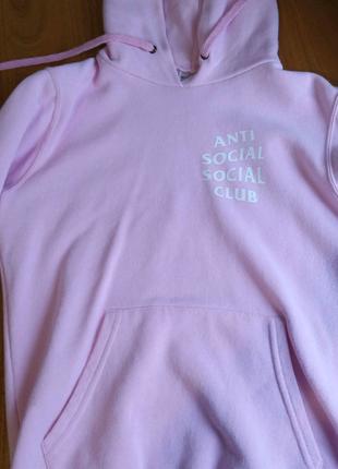 Розовое худи assc