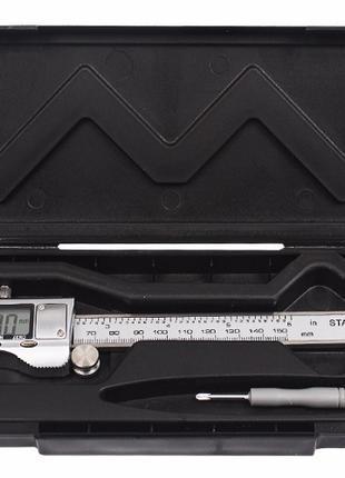 Штангенциркуль цифровой электронный 150мм 0.01мм в футляре,металл