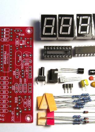 Конструктор Частотомер цифровой 1 Гц - 50 МГц набор