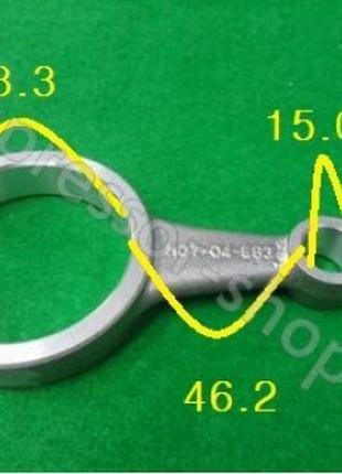 Шатун Bitzer (Битцер) ремонтный (-0.25mm), (-0.50mm) 2/4DC, 2/4СС