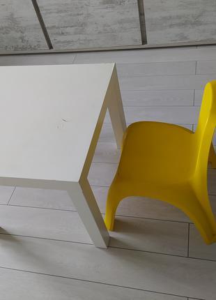 Стол со стулом б/у
