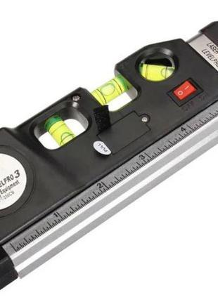 Лазерный уровень со встроенной рулеткой Laser Level Pro