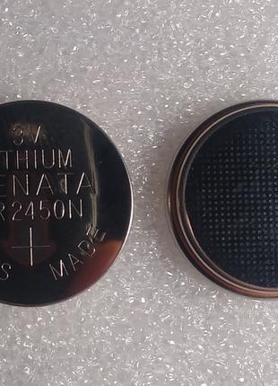 Батарейка RENATA CR2450N 3V Litium