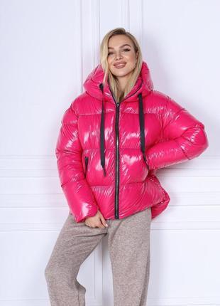 Куртка женская зимняя ткань монклер