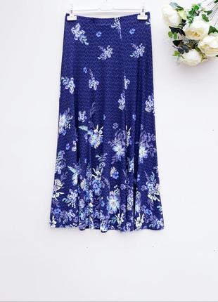 Ексклюзивная юбка в пол качественная юбка трикотажная длинная ...