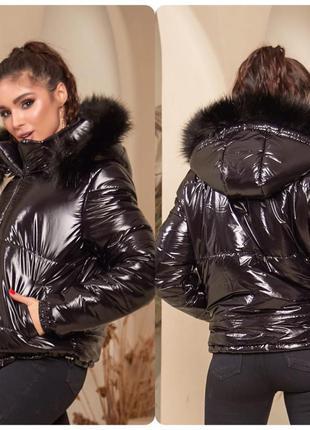 Куртка зимняя женская в стиле монклер moncler