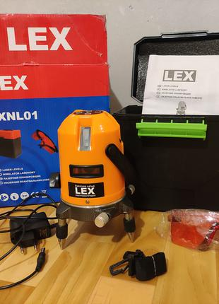 Лазерный уровень нивелир LEX LXNL01 + штатив