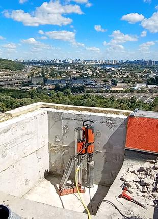 Алмазная резка бетона, сверление, демонтаж