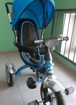Детский 3-х колесный велосипед с ручкой