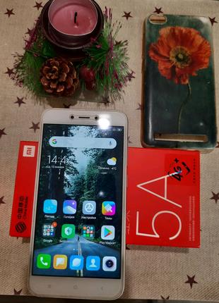 Xiaomi Redmi 5a 3/32 в идеальном состоянии