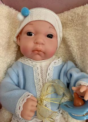 Реалистичная кукла-пупс младенец, 33 см