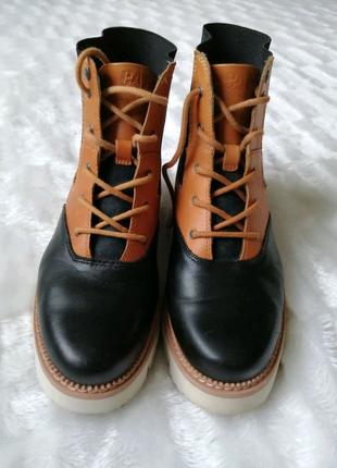Ботинки шкіряні ботинки кожаные Caterpillar