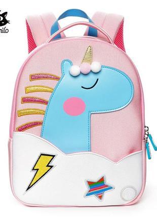 Стильный рюкзак для девочки «Единорог»