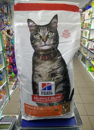 Hill's с ягненком сухой гипоаллергенный корм для кошек