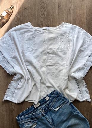 Блуза-пончо с бахромой Reserved, размер XS-S