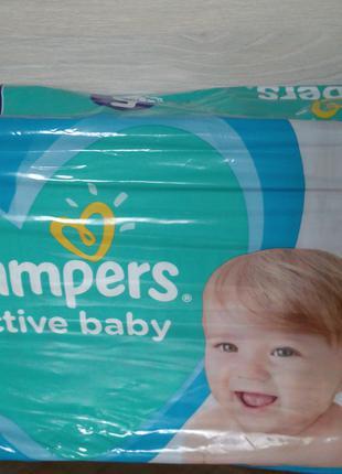 Підгузники Pampers active baby 5