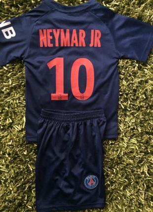 Детская футбольная форма fc psg neymar jr 10