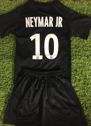 Детская футбольная форма psg neymar jr 10