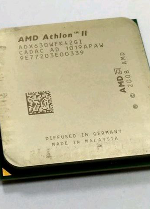 Процессор, AMD Athlon II X4 630, 2.8GHz,
