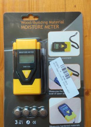 Влагомер измеритель влажности строительных материалов и древесины