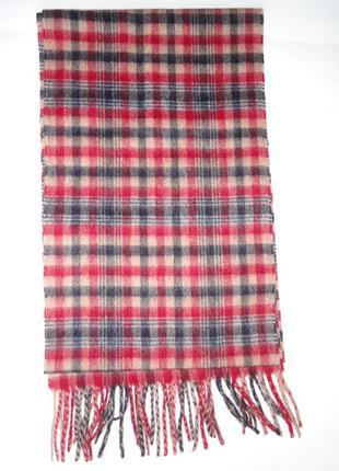 Зимний шарф 100% шерсть  (175х25)
