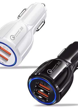 Qualcomm 3.0 - Зарядное Устройство в Авто Машину 2 Порта