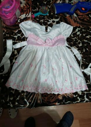 Детское платье на 3-4 года