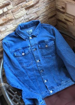 Брендовая джинсовая куртка джинсовка дания