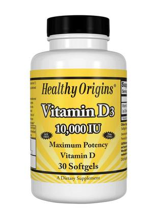 Vitamin D3 10 000 IU 30 softgels: Витамин Д3 10 000 уе 30 софтгел